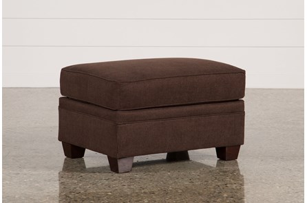 Alex Chocolate Ottoman - Main