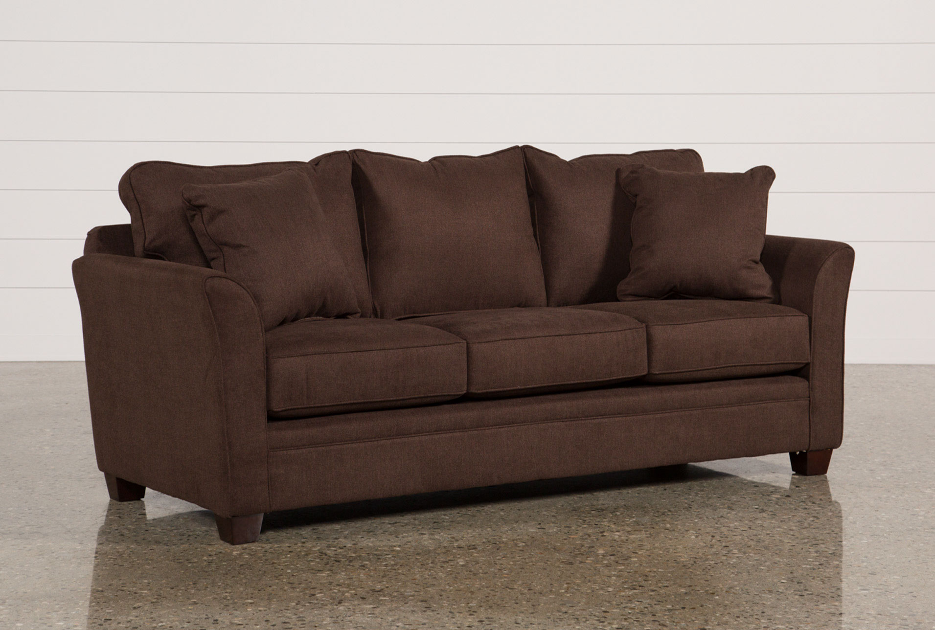 Charmant Alex Chocolate Sofa   360