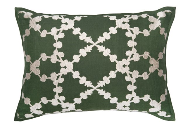 Accent Pillow-Olive Branches 14X20 - 360