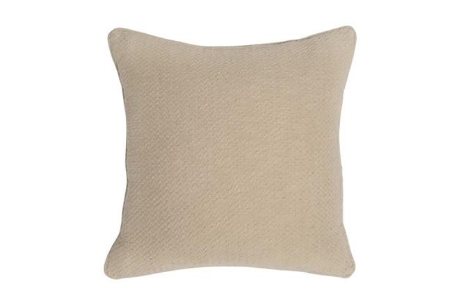 Accent Pillow-Linen Chevron Texture 22X22 - 360