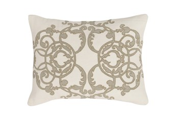 Accent Pillow-Champagne Scroll 12X16