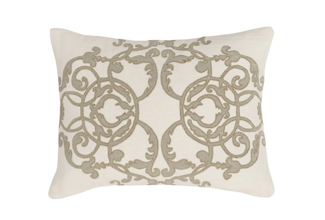 Accent Pillow-Champagne Scroll 12X16 - 360
