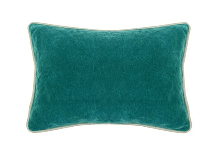 Accent Pillow-Surf Washed Velvet 14X20 - Main