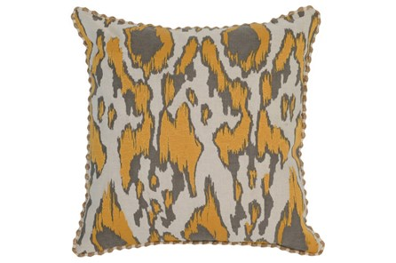 Accent Pillow-Mango Ikat 22X22 - Main