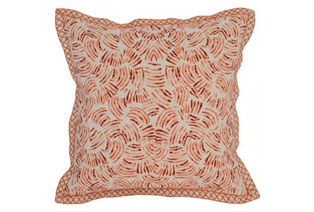 Accent Pillow-Carrot Eyelash 18X18