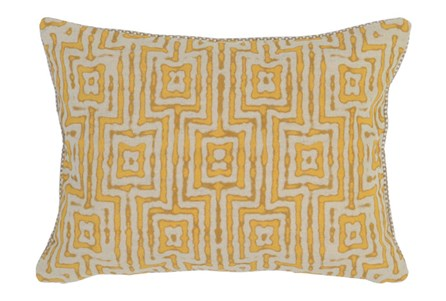 Accent Pillow-Mango Tribal Maze 14X20