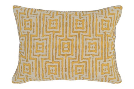 Accent Pillow-Mango Tribal Maze 14X20 - Main