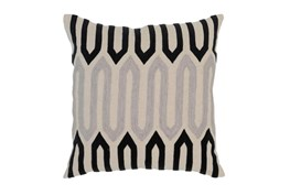 Accent Pillow-Onyx Mazework 22X22