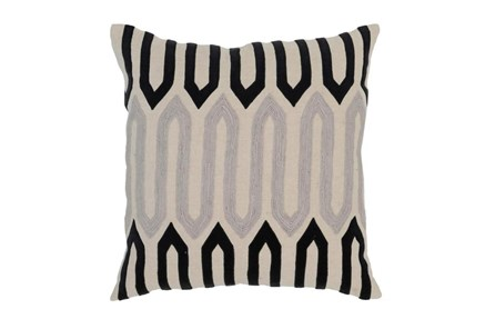 Accent Pillow-Onyx Mazework 22X22 - Main