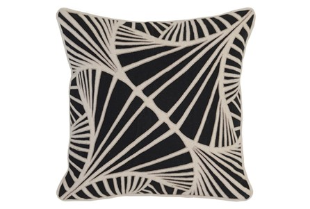 Accent Pillow-Onyx Ginko 18X18