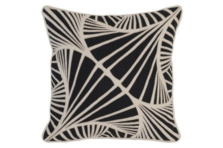 Accent Pillow-Onyx Ginko 18X18 - Main