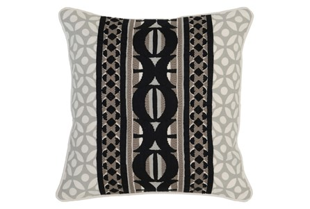 Accent Pillow-Onyx Multi Print 18X18