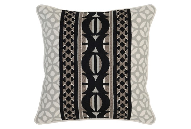 Accent Pillow-Onyx Multi Print 18X18 - 360
