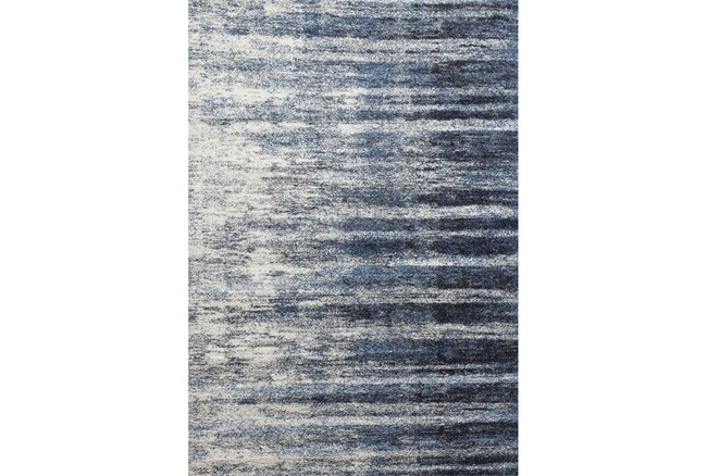 93X126 Rug-Wave Cobalt - 360