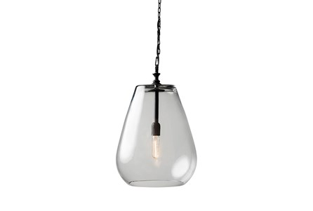Pendant-Drop Glass Globe