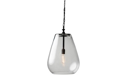 Pendant-Drop Glass Globe - Main