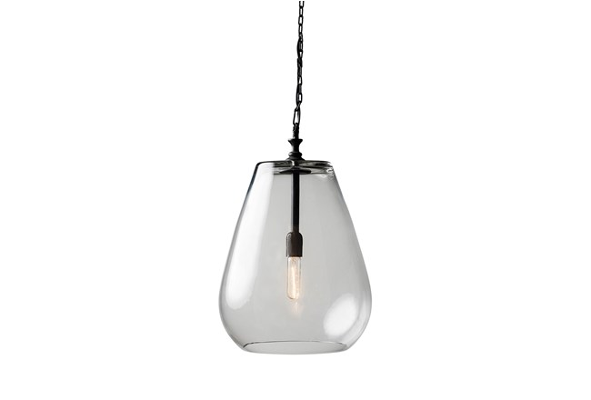 Pendant-Drop Glass Globe - 360