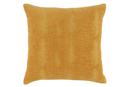 Accent Pillow-Sunflower Distressed Velvet 18X18