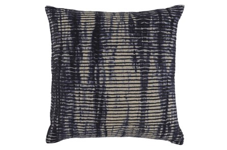 Accent Pillow-Aged Denim 22X22 - Main
