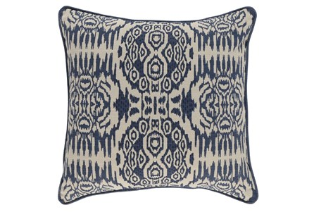 Accent Pillow-Denim Circle Tribe 22X22