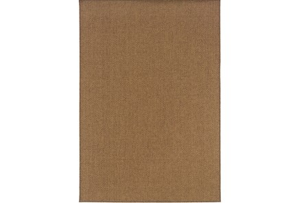 79X114 Outdoor Rug-Ryker Natural
