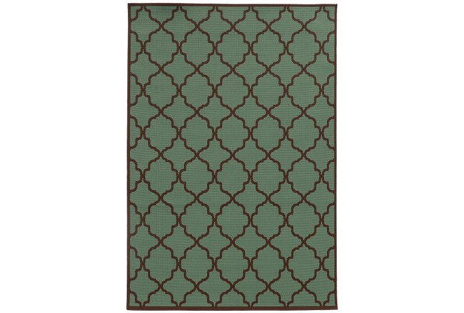63X90 Outdoor Rug-Montauk Aquarium - 360