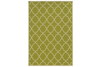 "5'3""x7'5"" Outdoor Rug-Montauk Lime"