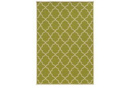 63X90 Outdoor Rug-Montauk Lime - Main