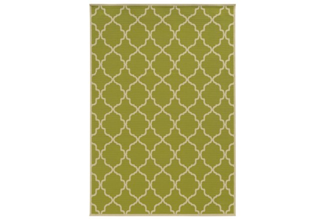 63X90 Outdoor Rug-Montauk Lime - 360