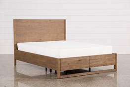 Nelson Queen Platform Bed W/Storage