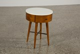 Alton Round Accent Night Table - Top