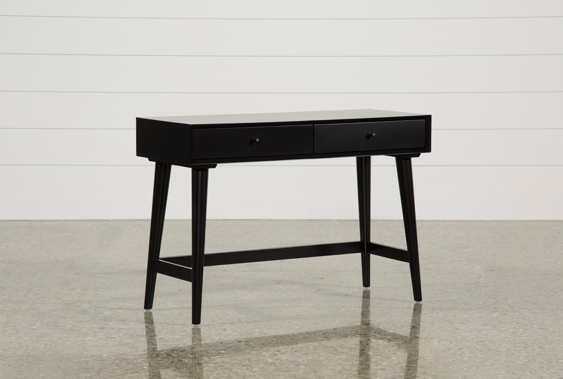 Alton Black Writing Desk Qty 1 Has Been Successfully Added To Your Cart