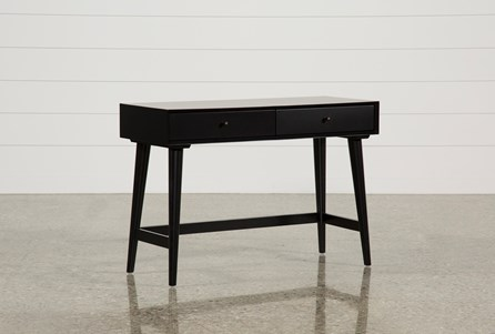 Alton Black Writing Desk
