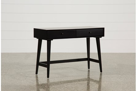 Alton Black Writing Desk