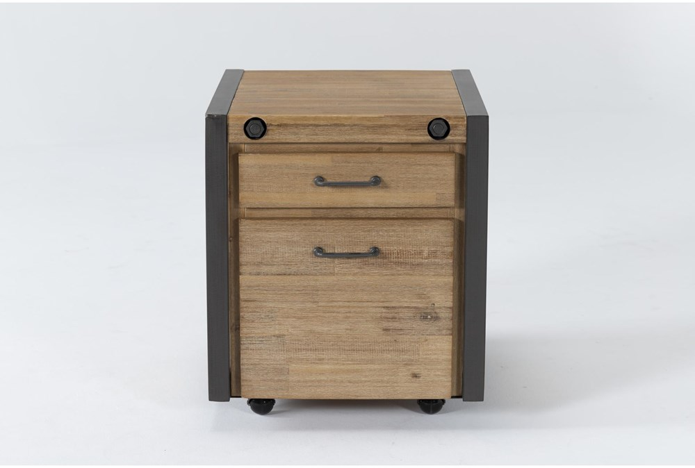 Whistler Mobile Filing Cabinet With 2 Drawers