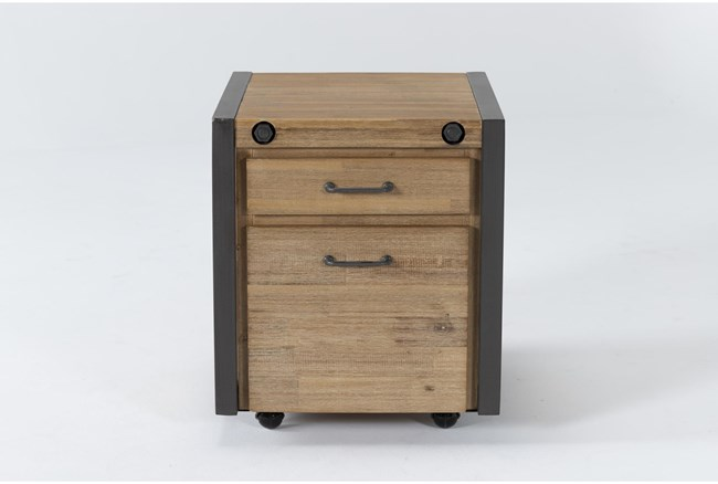 Whistler Mobile Filing Cabinet With 2 Drawers - 360