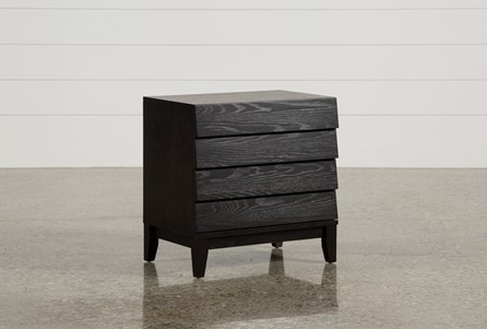 Keane Charcoal Nightstand