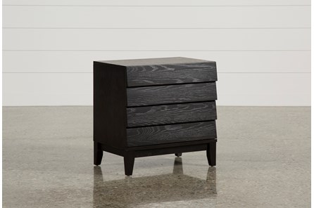 Keane Charcoal Nightstand - Main
