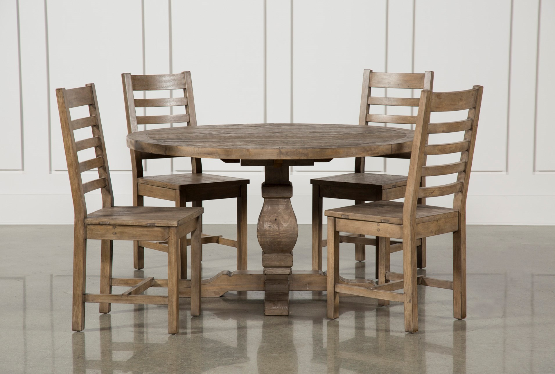 Caden 5 Piece Round Dining Set Living Spaces