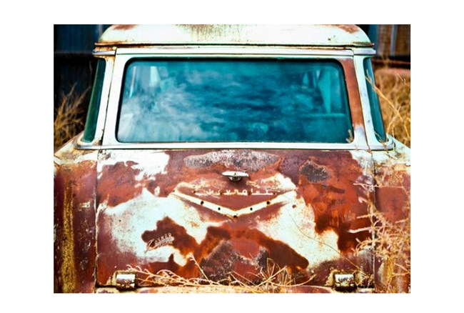 Picture-Rusted Car 36X48 - 360