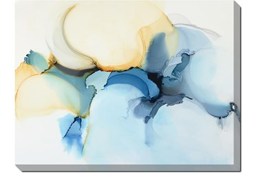 36X48 Watercolor Clouds