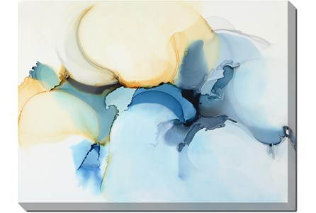 36X48 Watercolor Clouds - Main