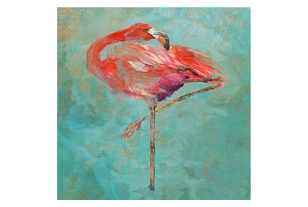 Picture-Pink Flamingo