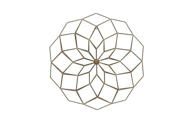 Metal Circle Wall Decor - 360