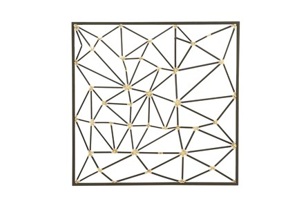 Beveled Metal Wall Decor