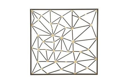 Beveled Metal Wall Decor - Main