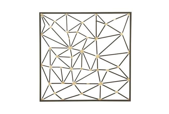 Beveled Metal Wall Decor - 360