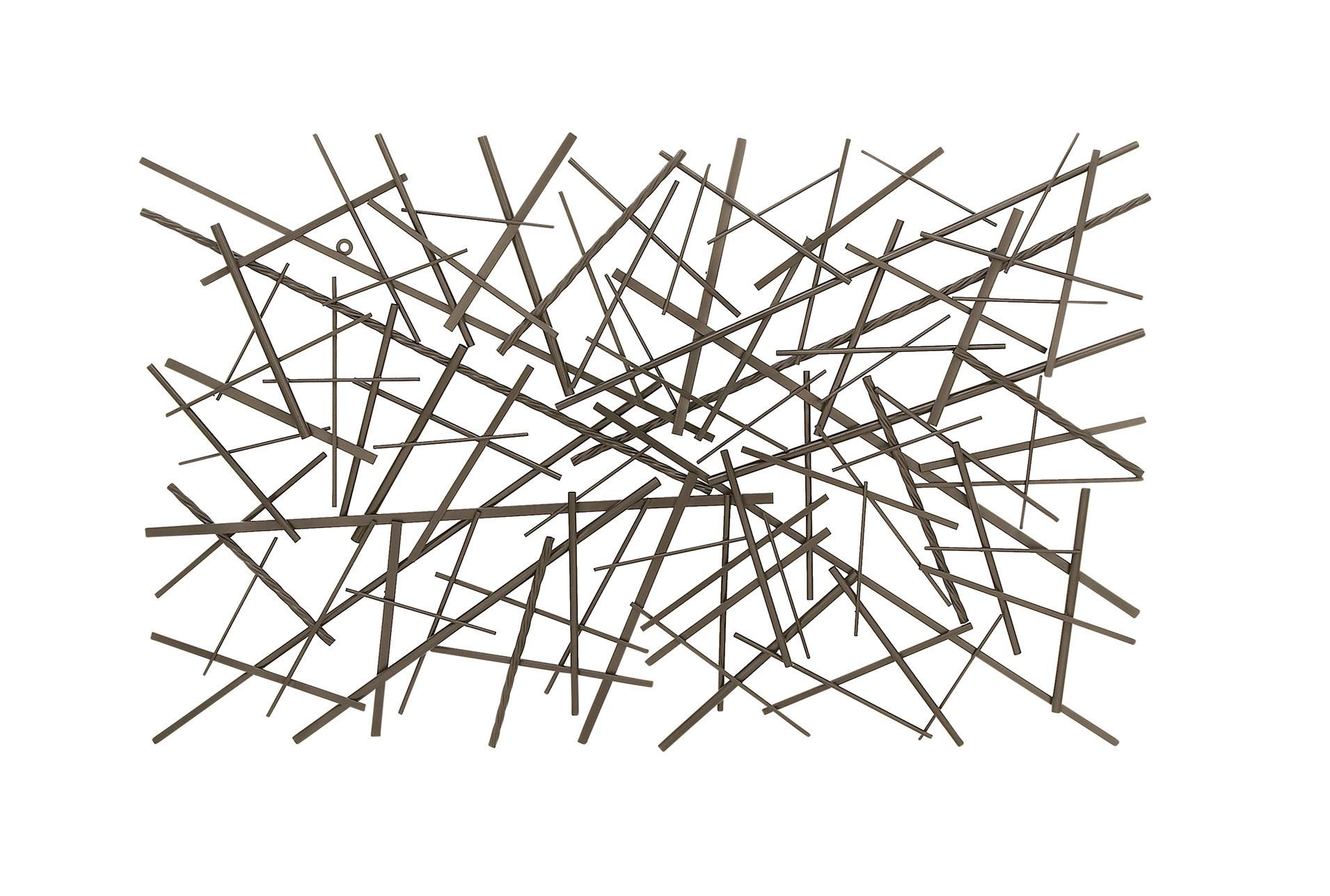 Abstract Rectangle Metal Wall Decor