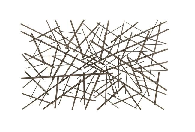 Abstract Rectangle Metal Wall Decor - 360