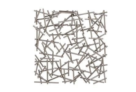 Abstract Square Metal Wall Decor